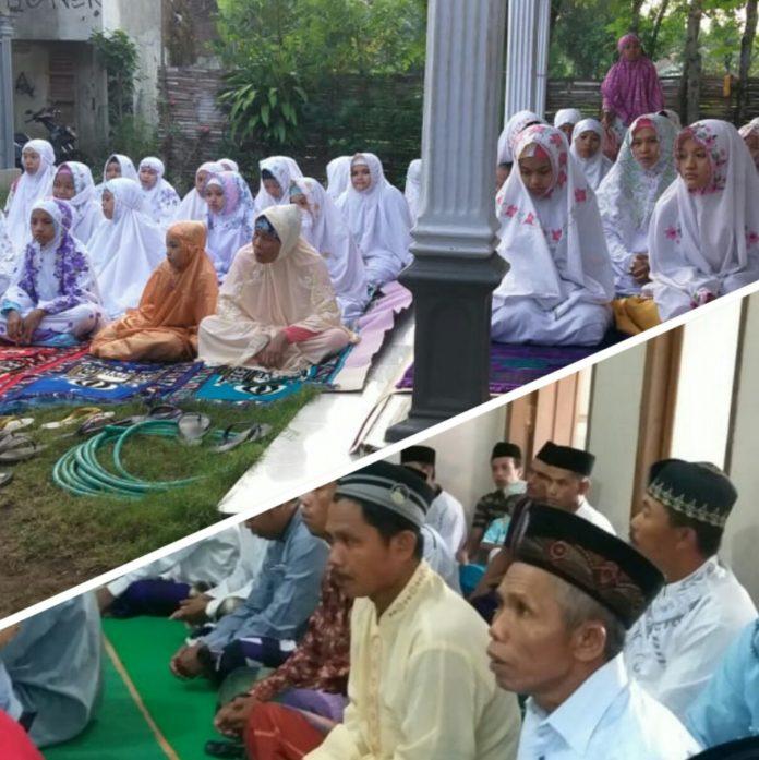 Jamaah Aboge Hari Ini Melaksanakan Sholat Idul Fitri