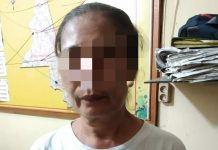 Ibu rumah tangga di Medan berusaha seludupkan sabu-sabu buat suaminya yang berada di sel tahanan Polsek Medan Barat. (Foto: istimewa)