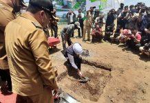 Gubernur Khofifah Letakkan Batu Pertama Pembanguna RSUD Kota Probolinggo