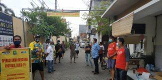 Masyarakat Kota Tangerang Serentak Sosialisasikan Pencegahan Penyebaran Covid-19