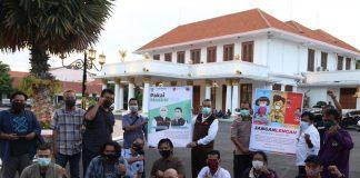 BPBD Jatim Bersama Jurnalis Pokja Pemprov Jatim dan Pokja DPRD Jatim Sosialisasikan Pencegahan Penyebaran Covid-19