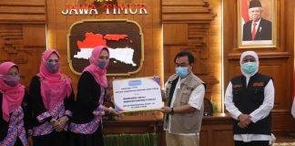 IPEMI Surakarta Serahkan Bantuan Masker ke Jatim