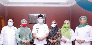 Walikota Pasuruan Menerima Kunjungan Perempuan Tani HKTI Jatim di Kota Pasuruan