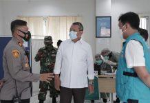 Wakil Walikota Tangsel Benyamin Davnie Pantau Vaksinasi Covid-19 Tahap Pertama di RSUD dan Puskesmas Setu Tangsel