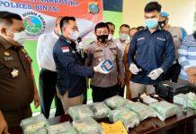 Polres Binjai musnahkan barang bukti 10 kilogram sabu hasil tangkapan Satnarkoba Mapolres Binjai
