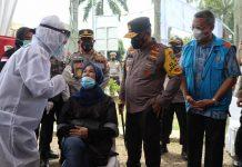 Warga Perumahan Villa Inti Persada Adakan Swab Antigen Mandiri, Tekan Penyebaran Covid-19