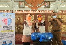TP PKK Kota Bandung bersama Dinas Ketahanan Pangan dan Pertanian Kota Bandung bersama cegah stunting melalui program Bandung Tanggap Stunting dengan Pangan Aman dan Sehat