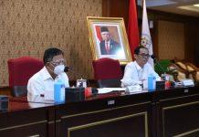 Sekretaris Kementerian PANRB Dwi Wahyu Atmaji dalam keterangan perencanaan kinerja Permen PANRB.