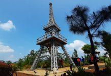 Bupati Banyumas Achmad Husein meresmikan Wisata Alam Hutan Pinus Kaliurip HPK di Desa Kaliurip Kecamatan Purwojati Kabupaten Banyumas.