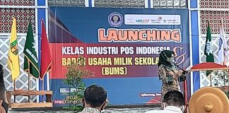 Launching Program berbasis Badan Usaha Milik sekolah.