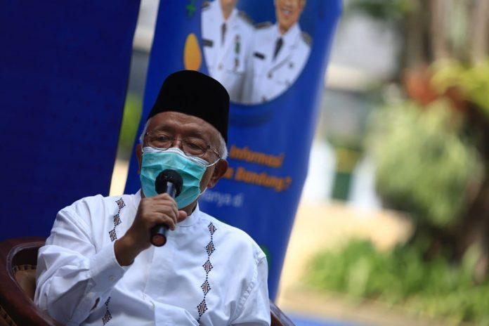 Dukung kebijakan desentralisasi pelaksaan shalat Ied, Majelis Ulama Indonesia (MUI) Kota Bandung sediakan teks khotbah