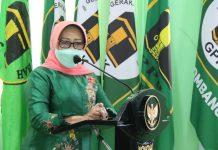 Hj. Mundjidah Wahab, Ketua DPC PPP Jombang. foto : istimewa