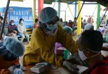 TNI AL Laksanakan Serbuan vaksin covid-19 untuk wilayah perbatasan Indonesia Timur