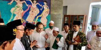 KH. Agus Solachul Aam Wahib Wahab bersama tokoh nasional Rizal Ramli saat diskusi kebangsaan beberapa waktu lalu