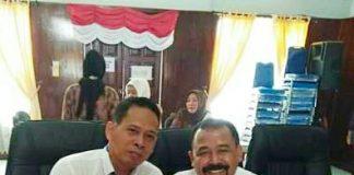 Foto bersama Irhamsyah Pohan dengan Edy Putra Sitepu/ist