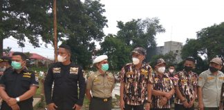 KB-FKPPI 0203 Kota Binjai saat ziarah ke makam Pahlawan untuk memeperingati HUT ke-43