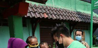 Bantuan untuk warga terdampak pandemi dari Goklat bersama Baim Wong