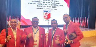 Pelantikan kepengurusan Dewan Pimpinan Nasional Partai Keadilan dan Persatuan (PKP) periode 2021-2026.