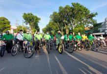 Gowes bareng Walikota Probolinggo bersama komunitas sepeda untuk peringati HSN sekaligus jaga herd immunity